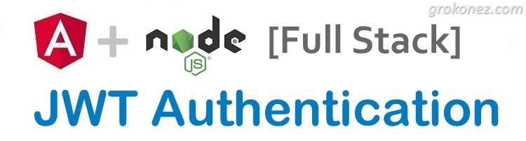 Angular & Nodejs JWT Authentication fullstack | Nodejs