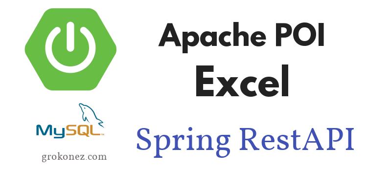 Excel File – Upload/Download using Apache POI + SpringBoot RestAPIs + Spring JPA + Thymeleaf to MySQL