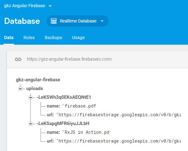 angular-8-firebase-storage-database-results