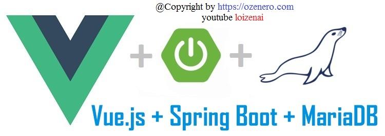 Vue.js SpringBoot CRUD MariaDB Example