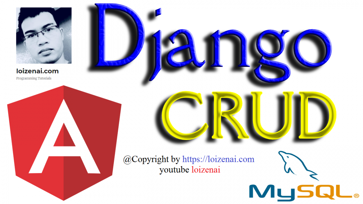 Django Angular 10 CRUD Example
