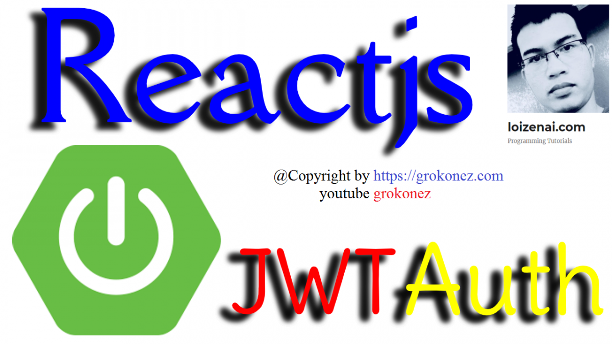 Reactjs Jwt SpringBoot Token Authentication Example